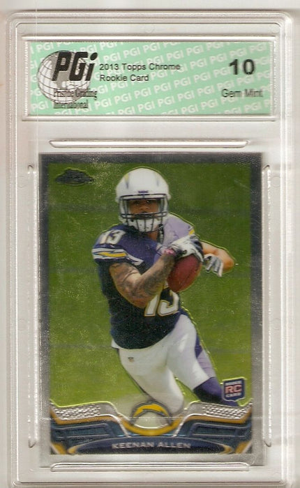 Keenan Allen 2013 Topps Chrome #14 Chargers Rookie Card PGI 10