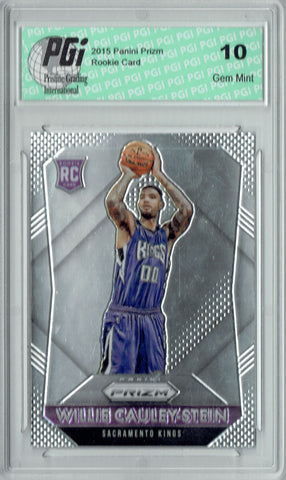 Willie Cauley-Stein 2015 Panini Prizm #349 Rookie Card PGI 10