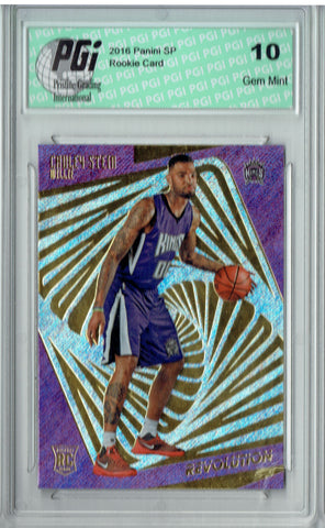 Willie Cauley-Stein 2015 Panini Revolution #150 Rookie Card PGI 10