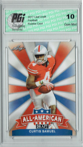 Curtis Samuel 2017 Leaf Draft #AA-06 Rookie Card PGI 10