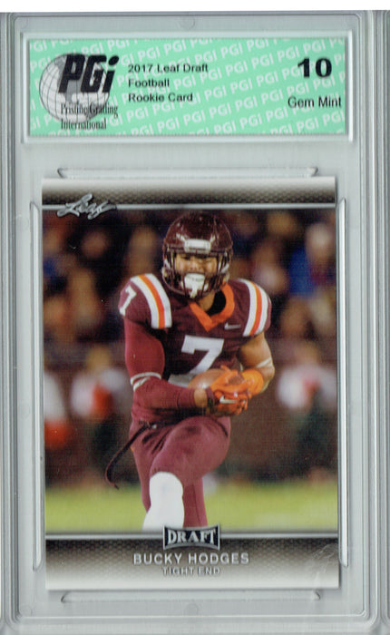Bucky Hodges 2017 Leaf Draft #7 Rookie Card PGI 10