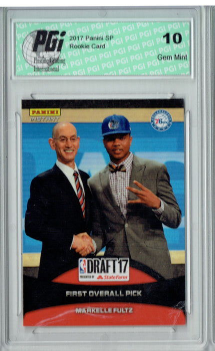 Markelle Fultz 2017 Panini Draft Day #16 Only 656 Made Rookie Card PGI 10