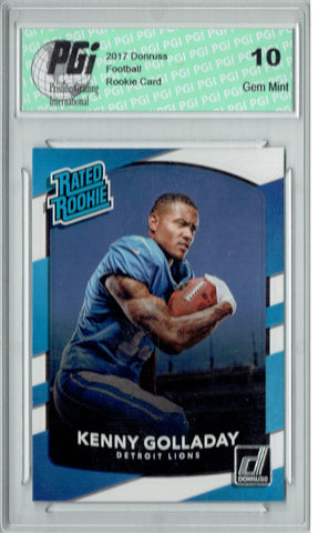 Kenny Golladay 2017 Donruss #325 Rookie Card PGI 10