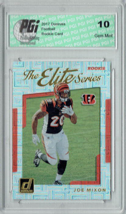 Joe Mixon 2017 Donruss #14 The Elite Series SP Rookie Card PGI 10