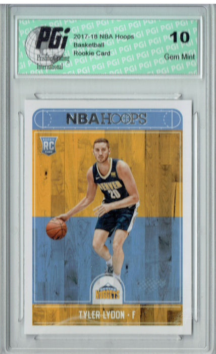 Tyler Lydon 2017-2018 Hoops #274 NBA Rookie Card PGI 10