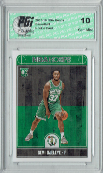 Semi Ojeleye 2017-2018 Hoops #287 NBA Rookie Card PGI 10