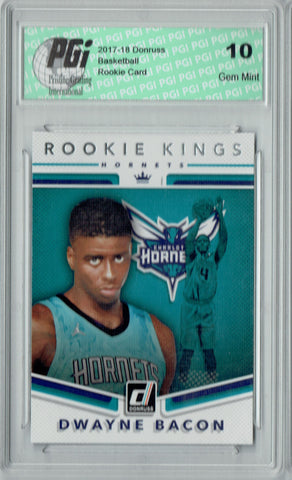 Dwayne Bacon 2017 Donruss #30 Rookie Kings SP Rookie Card PGI 10