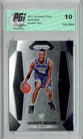 Harry Giles 2017-18 Panini Prizm #28 NBA Rookie Card PGI 10