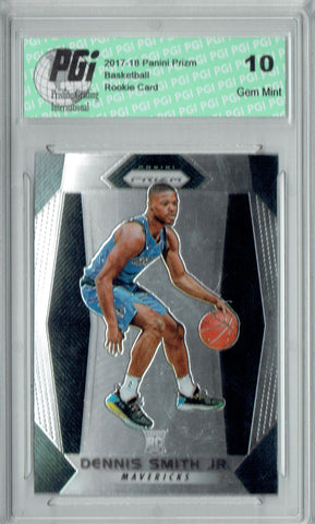 Dennis Smith Jr. 2017-18 Panini Prizm #99 NBA Rookie Card PGI 10