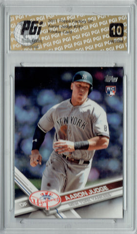 Aaron Judge 2017 Topps Factory #287 PRISTINE Rookie Card PGI 10