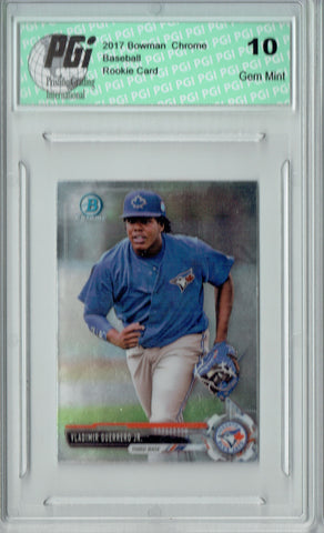 Vladimir Guerrero Jr. 2017 Bowman Chrome #BCP32 Mini SP Rookie Card PGI 10
