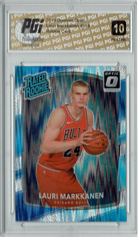 Lauri Markkanen 2017 Donruss Optic Flash #159 PRISTINE Rookie Card PGI 10