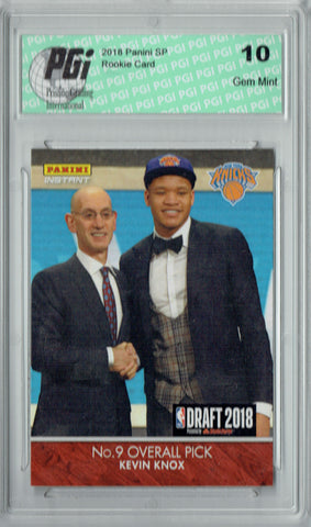 Kevin Knox 2018 Panini Instant #DN8 1/165, 1st Rookie Card Ever PGI 10