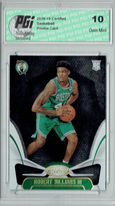 Robert Williams III 2018 Panini Certified #177 Rookie Card PGI 10