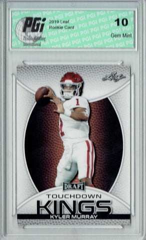 Kyler Murray 2019 Leaf Draft #SP-KM3 Touchdown Kings Rookie Card PGI 10