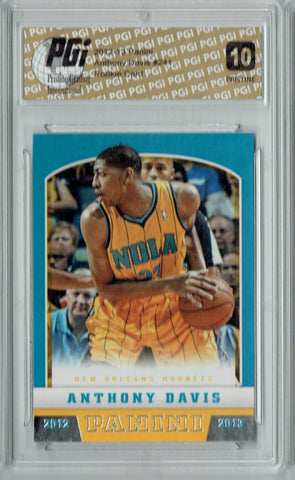 Anthony Davis 2012 Panini #241 PRISTINE Rookie Card PGI 10