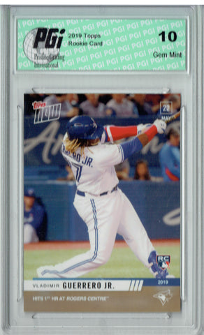 Vladimir Guerrero Jr. 2019 Topps Now #262 Only 2197 Made Rookie Card PGI 10