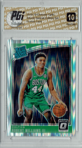 Robert Williams III 2018 Donruss Optic Shock #167 PRISTINE Rookie Card PGI 10