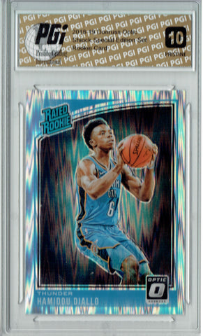 Hamidou Diallo 2018 Donruss Optic Shock #171 PRISTINE Rookie Card PGI 10