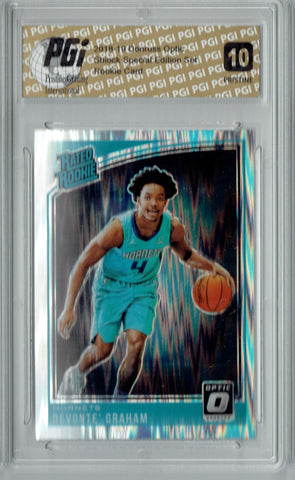 Devonte' Graham 2018 Donruss Optic Shock #189 PRISTINE Rookie Card PGI 10