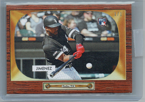 Eloy Jimenez 2019 Bowman 55 Style Masterpiece 1 of 1 Rookie Card #2C White Sox