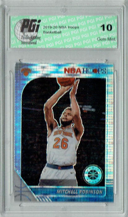 Mitchell Robinson 2019 NBA Hoops #126 Pulsar Premium Stock Card PGI 10