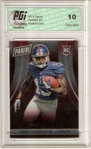 Odell Beckham 2014 Panini National Convention Only 200 Made Rookie Card PGI 10