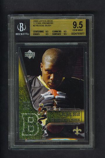 Reggie Bush BGS 9.5 '06 Upper Deck Rookie Premiere Card