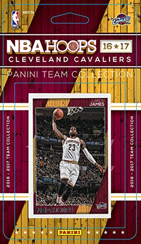 Cleveland Cavs 2016 Panini Hoops Team Set LeBron James Love Kyrie