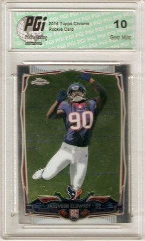 Jadeveon Clowney 2014 Topps Chrome #120 Houston Texans True Rookie Card PGI 10