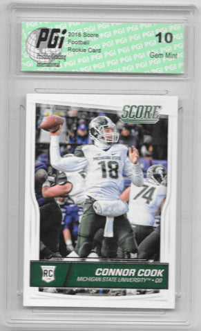 Connor Cook 2016 Score #333 Rookie Card PGI 10
