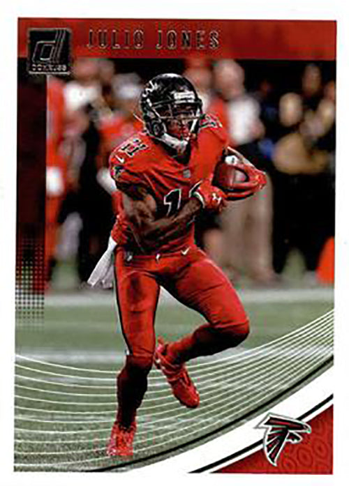 Julio Jones 2018 Donruss Football 48 Card Lot Atlanta Falcons #10
