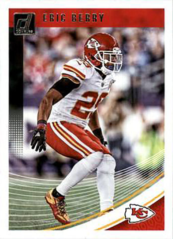 Eric Berry 2018 Donruss Football 48 Card Lot Kansas City Chiefs #142