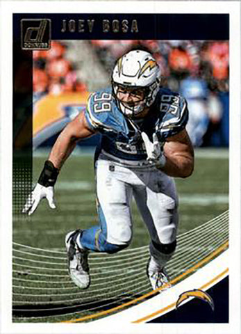 Joey Bosa 2018 Donruss Football 48 Card Lot Los Angeles Chargers #156