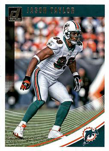 Jason Taylor 2018 Donruss Football 48 Card Lot Miami Dolphins #168