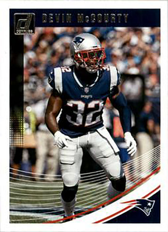 Devin McCourty 2018 Donruss Football 48 Card Lot New England Patriots #187