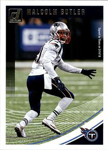 Malcolm Butler 2018 Donruss Football 48 Card Lot Tennessee Titans #189