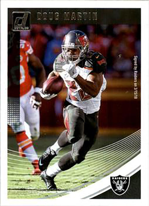Doug Martin 2018 Donruss Football 48 Card Lot Oakland Raiders #225