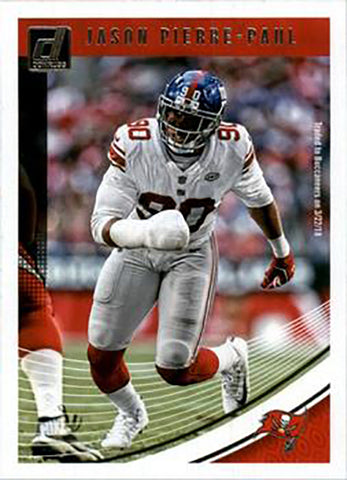 Jason Pierre-Paul 2018 Donruss Football 48 Card Lot Tampa Bay Buccaneers #272