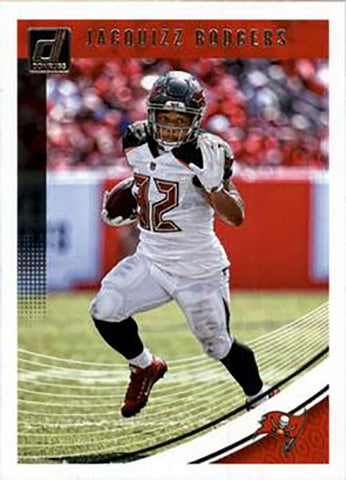 Jacquizz Rodgers 2018 Donruss Football 48 Card Lot Tampa Bay Buccaneers #274