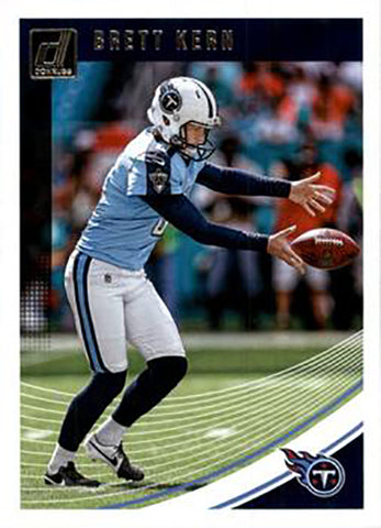 Brett Kern 2018 Donruss Football 48 Card Lot Tennessee Titans #276