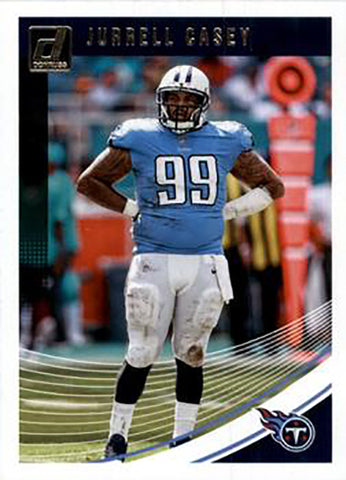 Jurrell Casey 2018 Donruss Football 48 Card Lot Tennessee Titans #277