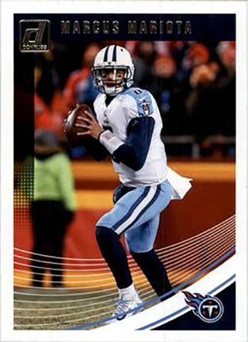 Marcus Mariota 2018 Donruss Football 48 Card Lot Tennessee Titans #278