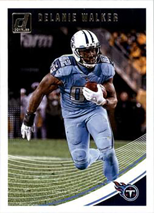 Delanie Walker 2018 Donruss Football 48 Card Lot Tennessee Titans #281