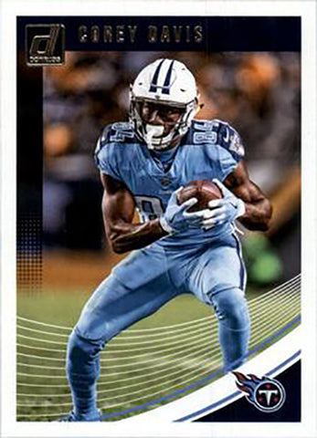 Corey Davis 2018 Donruss Football 48 Card Lot Tennessee Titans #282