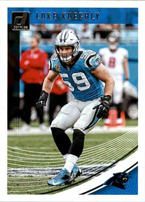 Luke Kuechly 2018 Donruss Football 48 Card Lot Carolina Panthers #38