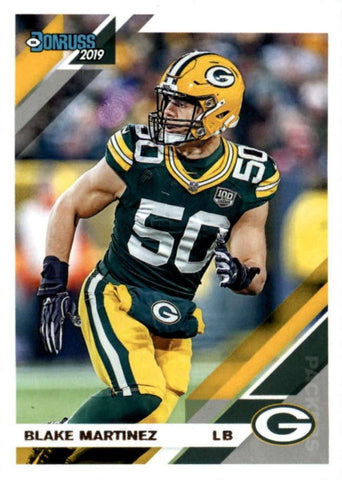 Blake Martinez 2019 Donruss Football 48 Card Lot Green Bay Packers #103