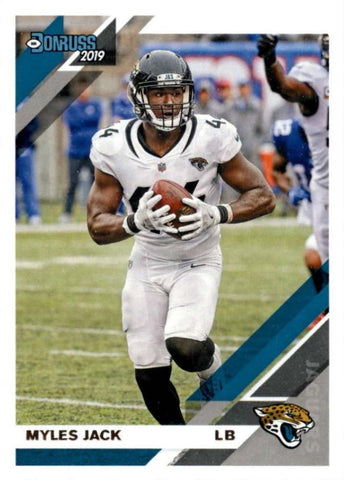Myles Jack 2019 Donruss Football 48 Card Lot Jacksonville Jaguars #124