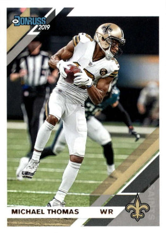Michael Thomas 2019 Donruss Football 48 Card Lot New Orleans Saints #173