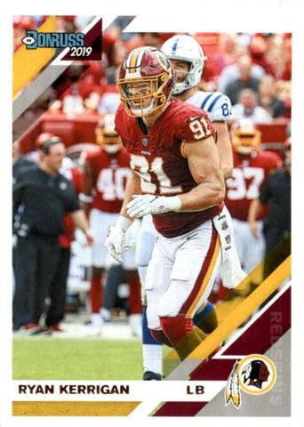 Ryan Kerrigan 2019 Donruss Football 48 Card Lot Washington Redskins #200